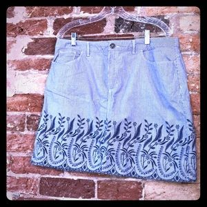 Croft and Barrow cotton lined Skorts